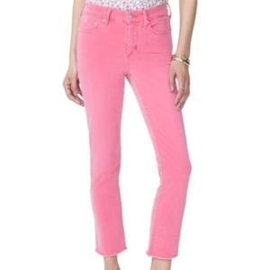 NYDJ SHERRI PINK ANKLE JEANS SIZE 10P